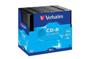 CD-R VERBATIM SLIM CASE